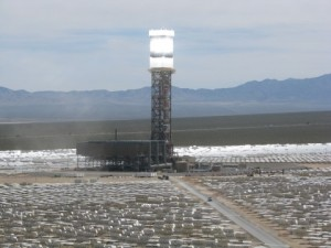Ivanpah is the first commercial power plant project in the United States for BrightSource, which owns a stake in the project along with NRG Energy NRG and Google.