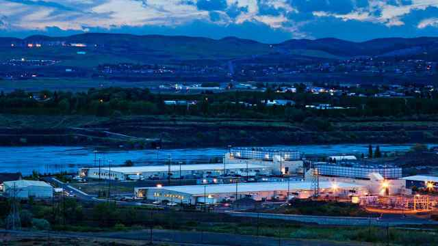 Google's data center in The Dalles, which opened in 2006. The company this week announced an expansion. (Google) (Photo: Rollins, Michael)