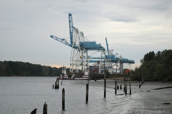 The Port of Portland, shipping internationally from the banks of the Columbia River. (Mark Graves photo)