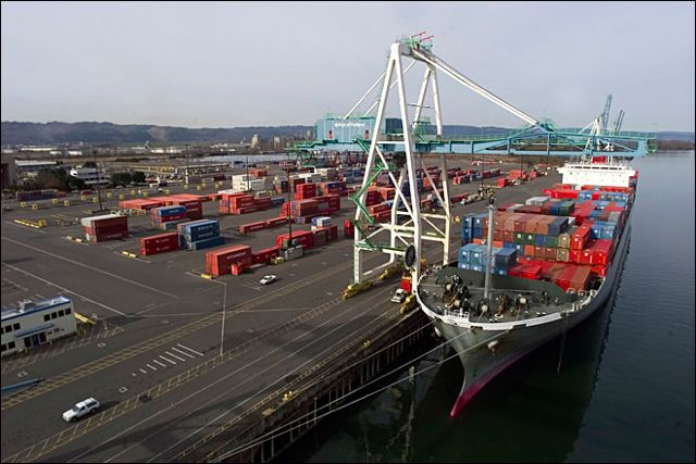 The Longshore and Warehouse Union said it is not working to slowdown work at the Port of Portland's Terminal 6.