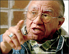 (Grant M. Haller) Billy Frank Jr., the Nisqually Indian elder who rose to prominence during the fish wars, says: