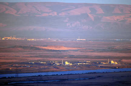 The Columbia River runs alongside the U.S. Department of Energy's Hanford site, once home to nine operating nuclear reactors that produced plutonium for nuclear weapons. Now it's the nation's largest radioactive cleanup site.