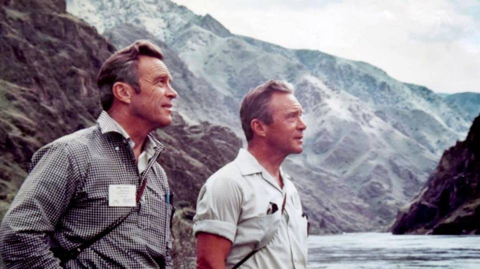 John, left, and Frank Craighead wrote most of the Wild and Scenic Rivers Act. They're pictured here in Hells Canyon in 1970. Craighead family photo