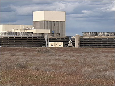 The Columbia Generating Station at the Hanford Nuclear Reservation in Washington.