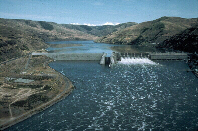 Lower Granite Dam (USACE Digital Visual Library)
