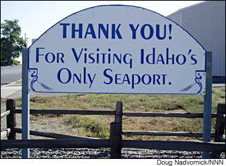 The Port of Lewiston, Idaho touts itself as the Northwest's farthest inland seaport.