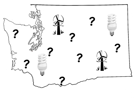 Washington Efficiency/Renewables Widely Supported, but Proposed Policy Paths Diverge